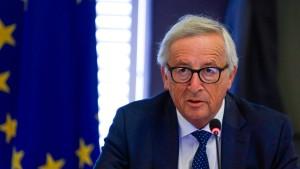 Juncker will Abschiebung von Migranten erleichtern