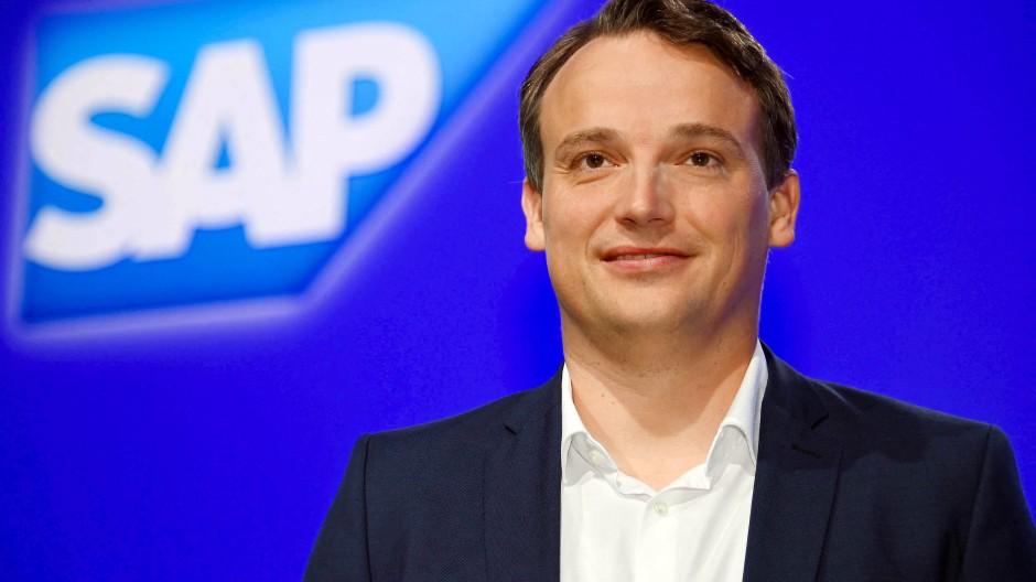 Christian Klein, der Chef des Software-Riesens SAP.
