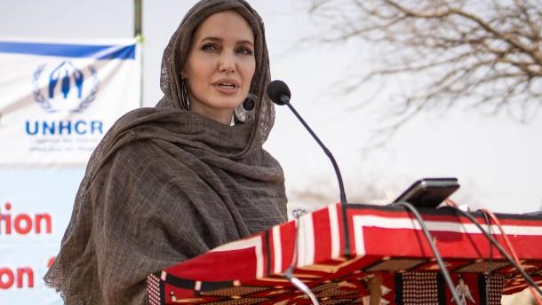 Angelina Jolie besucht Flüchtlinge in Burkina Faso