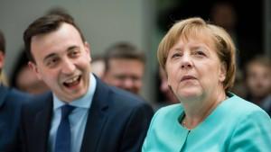 Junge-Union-Chef fordert klares Profil von der Kanzlerin