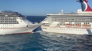 Kreuzfahrtschiffe krachen vor Mexiko zusammen