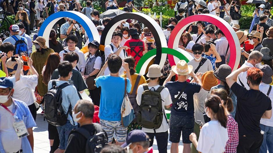 Es geht los: Eröffnungsfeier im Olympiastadion in Tokio