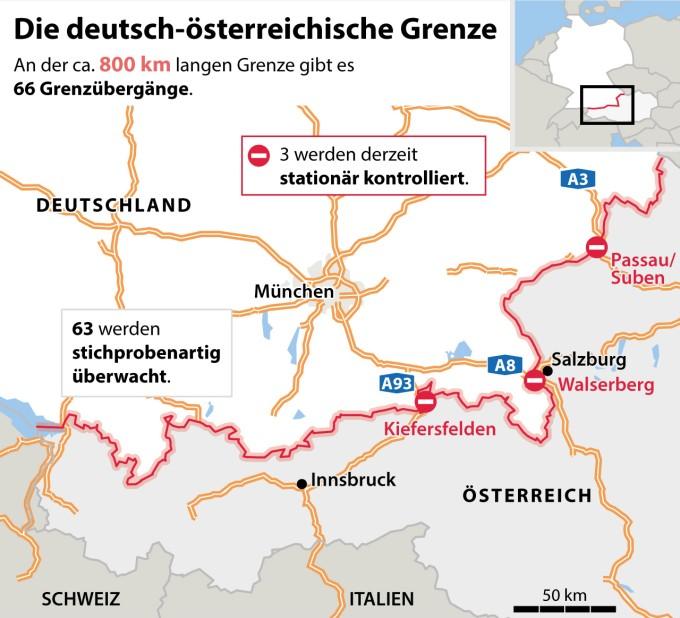 Osterreich Will Seine Sudgrenze Schutzen