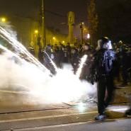 Feuerwerk und Flammenwurf für diesen Staat: Ließ sich die Polizei in der Silvesternacht in Leipzig-Connewitz provozieren?