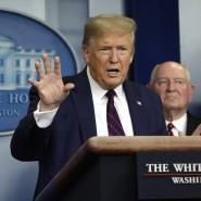 Der amerikanische Präsident Donald Trump am Freitag im Weißen Haus in Washington