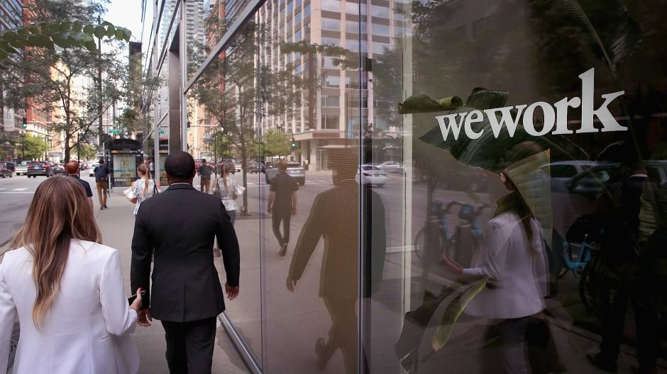Wework-Büro in Chicago