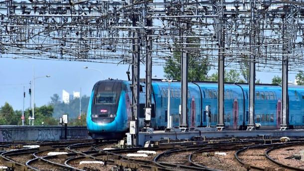 Schnellzüge in Frankreich fahren wegen der Hitze langsamer
