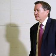 Michael Atkinson, bisher Generalinspektor der amerikanischen Geheimdienste, wurde von Trump gefeuert