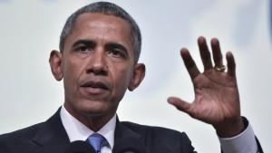 Obama sieht die Türkei auf keinem guten Weg
