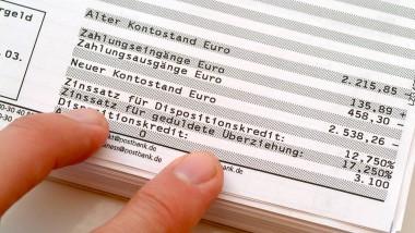 Schlechte Nachrichten für den Kunden: Einige Bankkunden wollen an das Minus auf dem Konto nicht erinnert werden