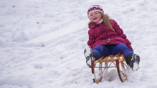 Holt die Schlitten raus - wir haben Winter!
