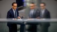 """Hat den """"wahren Feind"""" im Netz entdeckt: Bundesjustizminister Heiko Maas (SPD)"""