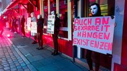 Prostituierte fordern das Ende der Corona-Auflagen