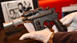 Han Solos Blaster für 475.000 Euro versteigert