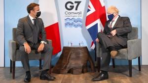 Macron will Neustart der französisch-britischen Beziehungen
