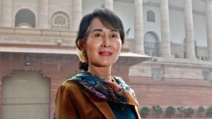 Aung San Suu Kyi rechtfertigt Spenden