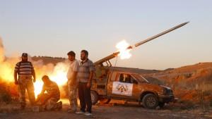 Amerika hilft syrischen Rebellen nicht