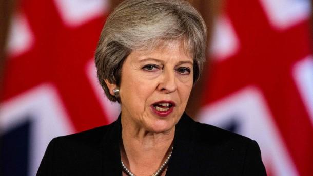 Minister drohen May mit Rücktritt