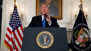 Trump setzt Europäer wegen Iran unter Druck