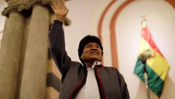 Zweiter Wahlgang in Bolivien wahrscheinlich