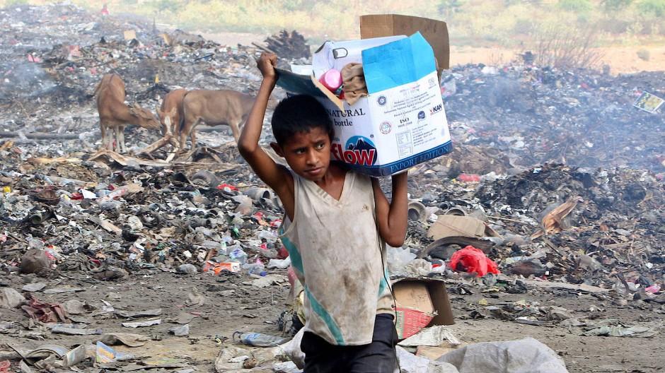 Abfall als Einkommensquelle: Eine neue Technologie könnte das Leben der Müllsammler in Timor-Leste aber vielleicht erheblich verbessern.
