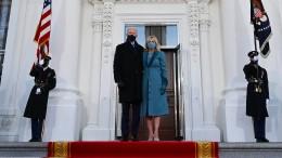 Biden im Weißen Haus angekommen