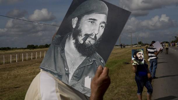 Kuba verbietet Fidel-Statuen