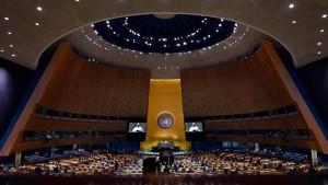 UN können Mitarbeiter im November womöglich nicht bezahlen