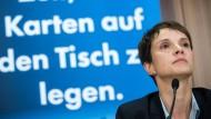 Frauke Petry traf angeblich Front-National-Vorsitzende Le Pen