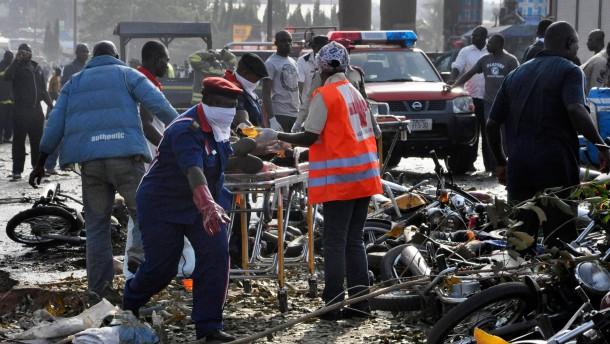 Dutzende Tote bei Anschlag in Abuja
