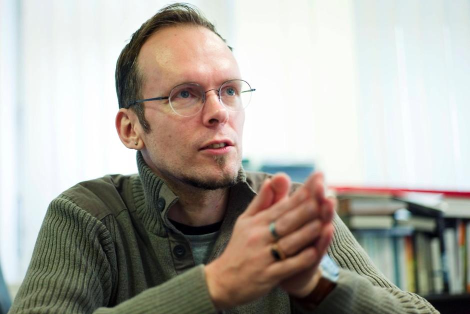 Er führte das Gespräch mit Ranga Yogeshwar: der F.A.Z.-Feuilleton Redakteur und Schriftsteller Dietmar Dath