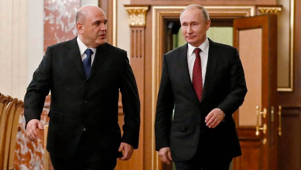 Lawrow bleibt russischer Außenminister