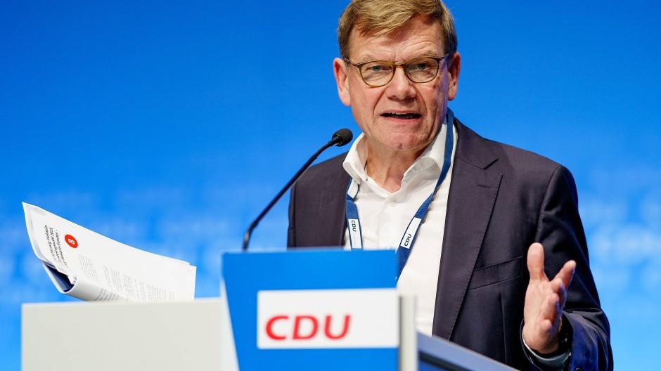 Der Bundestagsabgeordnete Johann Wadephul (CDU) am 14. August in Neumünster