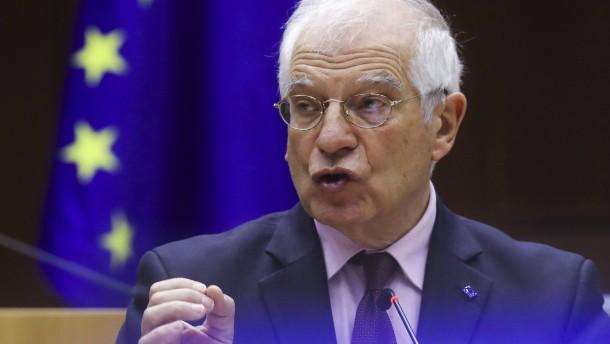 Borrells Autorität ist angeschlagen