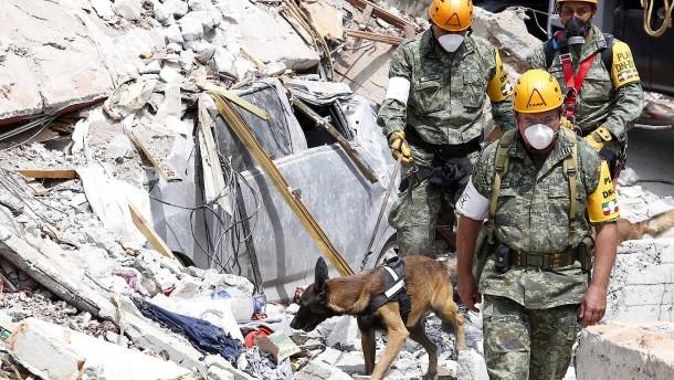 Nach Erdbeben: Zahl der Toten steigt weiter an
