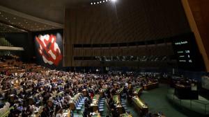 Vollversammlung verurteilt Israel