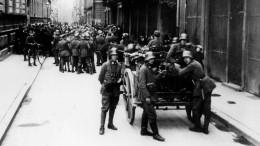 München im Belagerungszustand