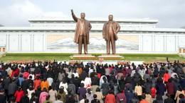 Ketten sprengen auf Nordkoreanisch
