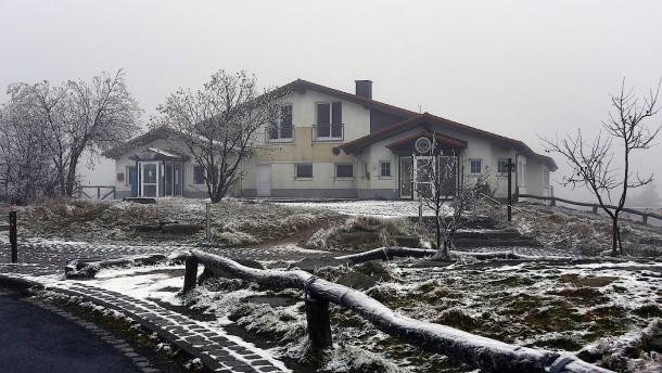 Almhütte im Taunus für die kalte Jahreszeit