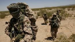 Kommandosoldaten bilden in vier Staaten Spezialeinheiten aus