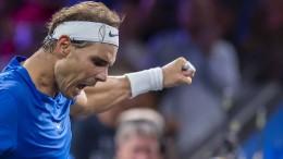 Federer und Nadal bringen Europa in Führung