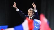 Macron: Ich will Präsident des ganzen französischen Volkes werden