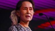 Galt einst als Hoffnungsträgerin: die burmesische Politikerin Aung San Suu Kyi