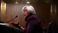 Janet Yellen, Präsidentin der US-Notenbank (Federal Reserve): Kommt die Zinswende?
