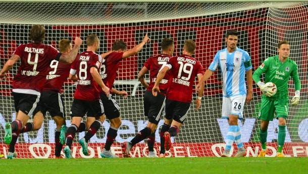 1. FC Nürnberg kommt nicht über Remis hinaus