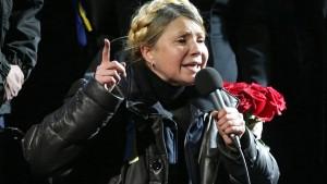 Timoschenko feuert Protestierende an