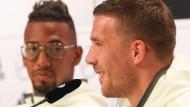 """Boateng und Podolski über Polen und Löws """"Hosengriff"""""""