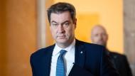 Hat die Ausgangsbeschränkungen in Bayern verlängert: Ministerpräsident Markus Söder (CSU)