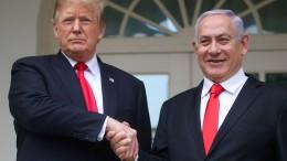 Netanjahu will Siedlung auf Golanhöhen nach Trump benennen