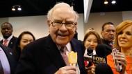 Eis statt Ketchup gibt es bei Warren Buffett.